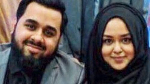 Husna Begum, 22 ans, aux côtés de son frère Hanif, 26 ans, sont morts avec leur frère Hamid, 29 ans et leurs parents lors de l'incendie de la tour Grenfell à Londres.