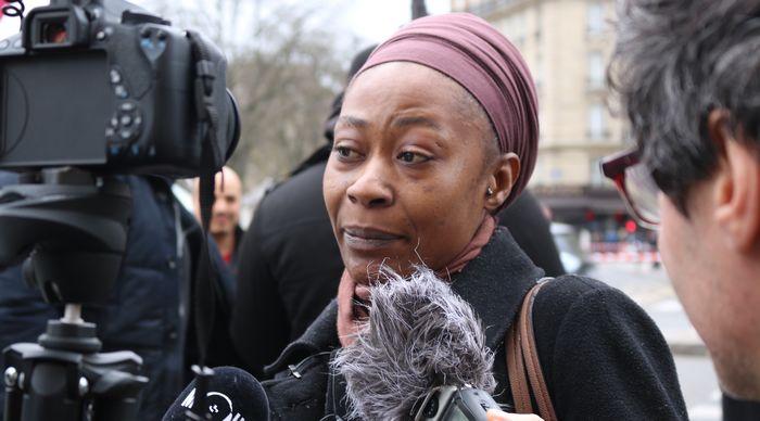 Ramata Dieng, fondatrice du collectif Vies Volées et soeur de Lamine Dieng.
