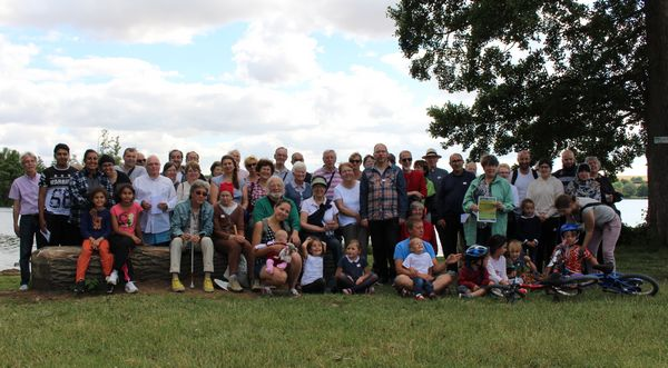 La 3e édition de la marche mosaïque a été organisée dimanche 2 juillet, réunissant des Drouais de tous horizons. © M. Ennebati