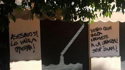 Une mosquée profanée à Sévlle après les attentats en Catalogne.