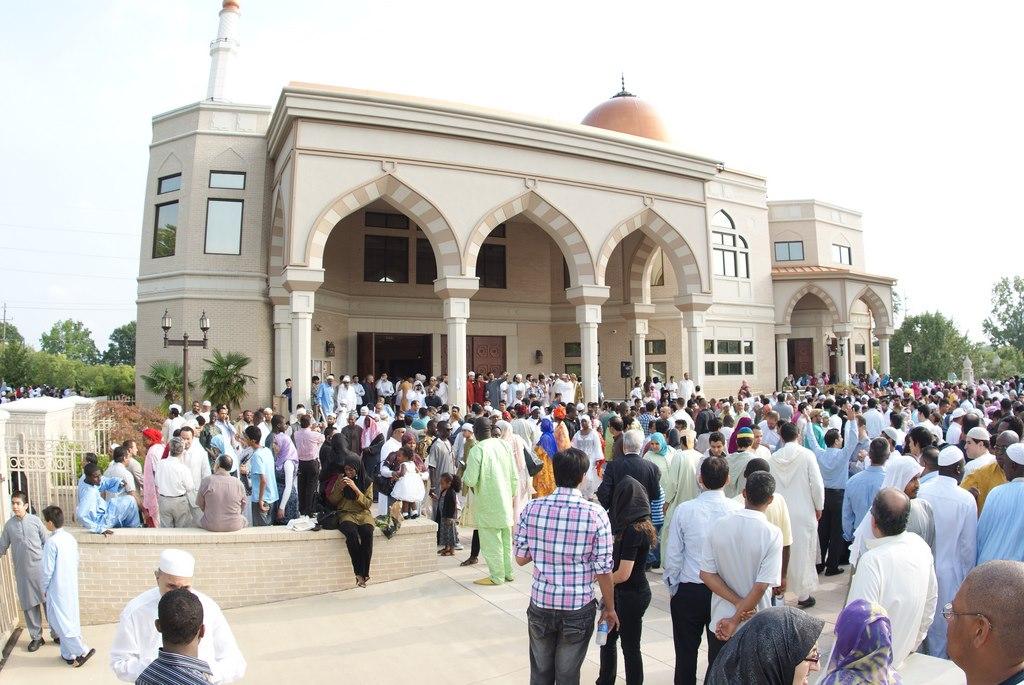 La grande mosquée Al-Farooq d'Atlanta.