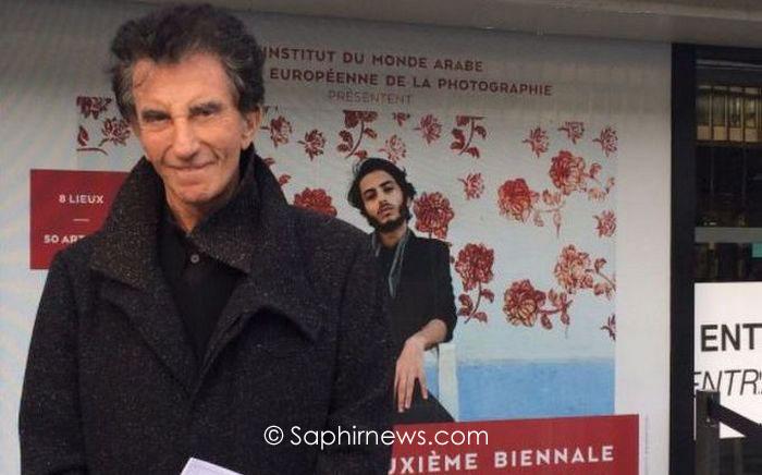 Jack Lang a inauguré, mardi 12 septembre, la 2e Biennale des photographes du monde arabe à l'Institut du monde arabe (IMA) et, plus tôt dans la journée, à la Maison européenne de la photographie.