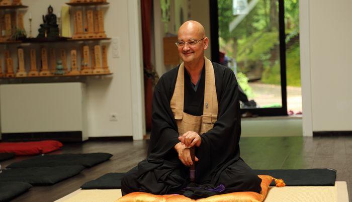 Olivier Wang-Genh est vice-président de l'Union bouddhiste de France (UBF) et président de la Communauté bouddhiste d'Alsace (CBA). © UBF