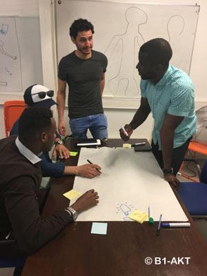 Développé dans 7 pays (Allemagne, Belgique, Grèce, Roumanie, Italie, Serbie, France), le programme Migrant Integration Lab vise à l'intégration globale des migrants : sur les aspects sociolinguistiques et culturels comme économiques et professionnels.