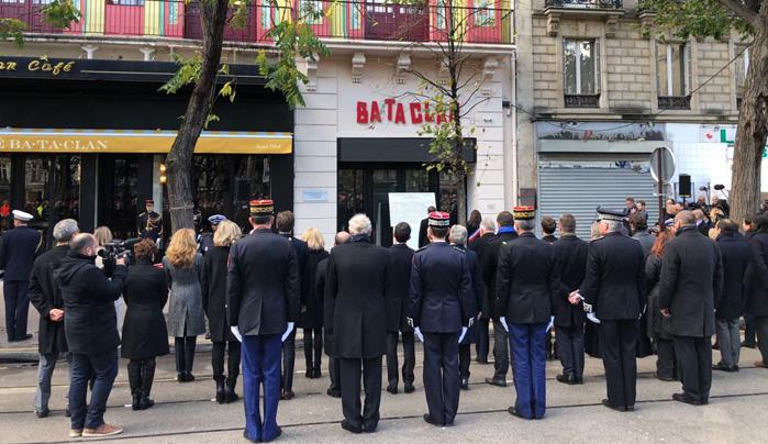 Deux ans après le 13-Novembre, hommages aux victimes des attentats. © CFCM