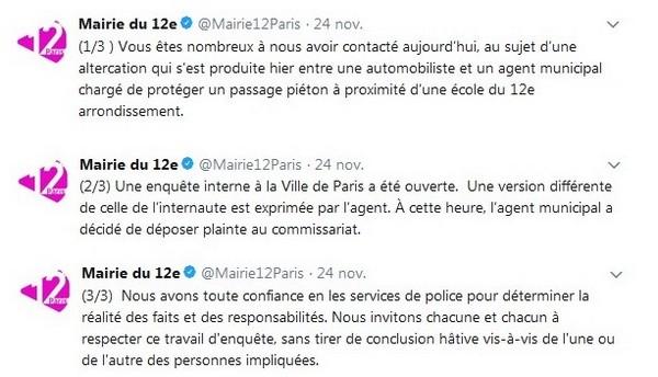 Paris : une musulmane victime d'une agression islamophobe par un agent municipal