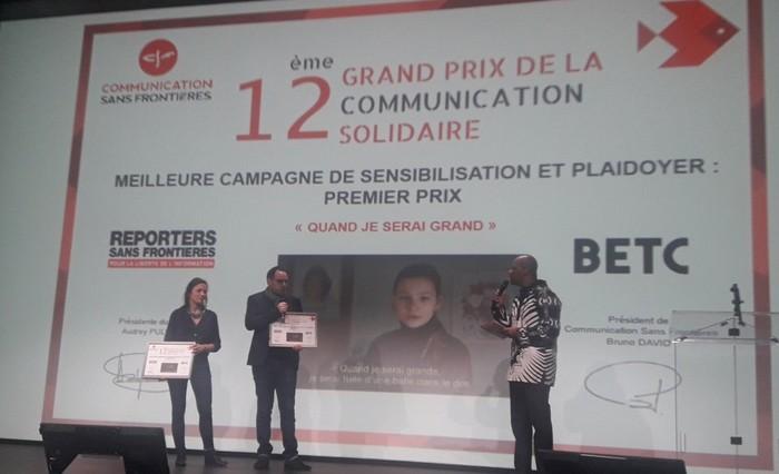 Au 12e Grand Prix de la communication solidaire, des spots coups de poing à l'honneur (vidéos)