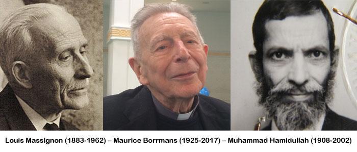 En 2009 est publiée, grâce au P. Maurice Borrmans, la correspondance qu'ont échangée le professeur au Collège de France Louis Massignon et le professeur Muhammad Hamidullah, premier musulman à avoir traduit le Coran en français dans son intégralité.