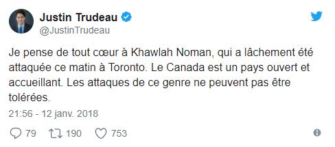 Canada : une fillette de 11 ans invente une grave attaque islamophobe