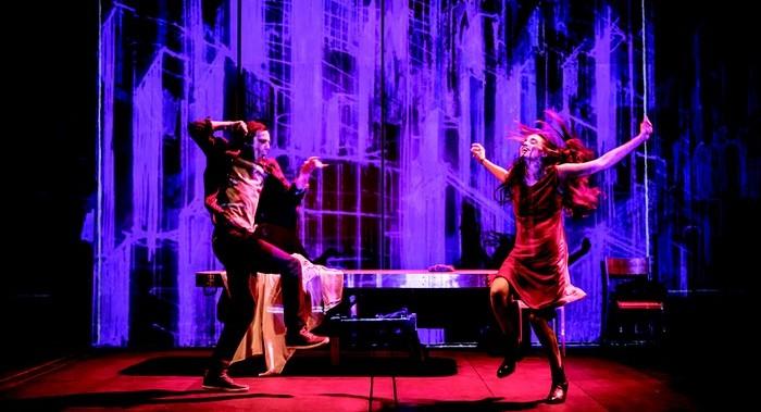 « Tous des oiseaux » est  le premier spectacle du dramaturge libano-canadien Wajdi Mouawad depuis qu'il a pris la direction du théâtre national de la Colline en avril 2016. © Simon Gosselin