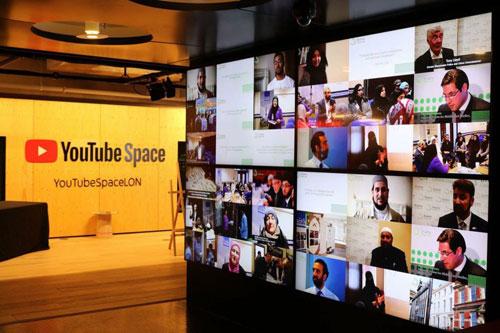 Le 2e Sommet digital d'Imams Online s'est tenu dans les locaux londoniens de YouTube, accueillant 150 participants et une vingtaine d'intervenants. (Photo © Imams Online)