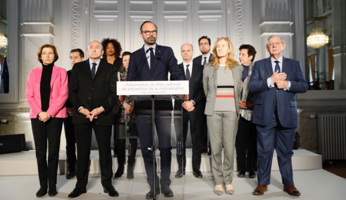 Edouard Philippe a dévoilé, vendredi 23 février, le plan national de prévention de la radicalisation promis par Emmanuel Macron. © Twitter / Edouard Philippe