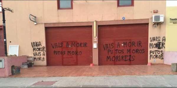 La mosquée de Tarragone (Catalogne) a été profanée suite aux attentats de Barcelone en août 2017.