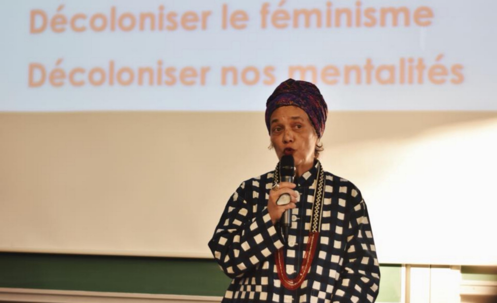 Françoise Vergès. © Amal El Gharbi