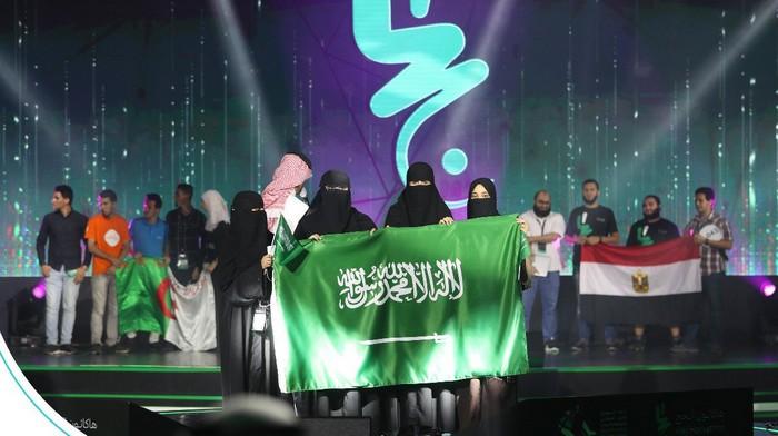 C'est une équipe féminine saoudienne qui a remporté le premier prix du hackathon du Hajj vendredi 3 août. Une équipe algérienne et égyptienne ont respectivement obtenu la deuxième et la troisième place. © SAFCSP