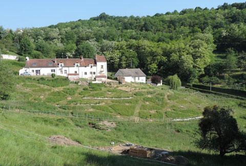 L'Ilot des combes, ouvert en 2015 dans le Creusot, comprend, notamment, une microferme en permaculture.