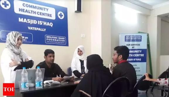 Une clinique destinée aux malades pauvres s'est installée depuis le début du mois de novembre 2018 au sein d'une mosquée d'Hyderabad. © Times of India