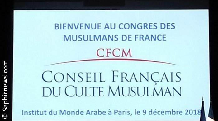 Ce que proclame la résolution finale du congrès des musulmans de France