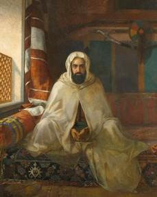 Portrait de l'émir Abdelkader, par Ange Tissier.