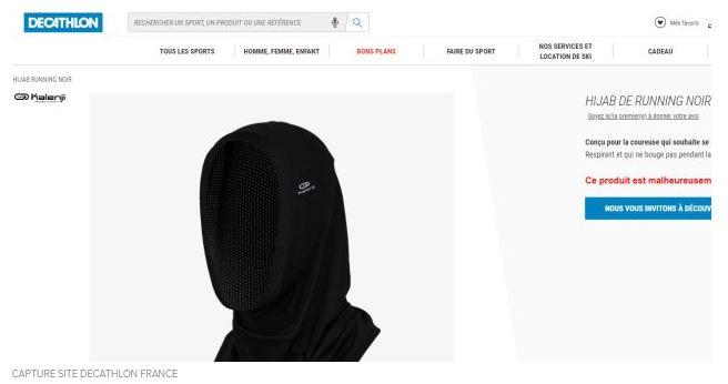 f969e3311 La défense magistrale de Decathlon face à la polémique suscitée par le  hijab de running en France
