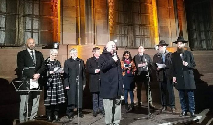 Depuis Strasbourg, les religions disent : « Non à l'antisémitisme et à toutes les formes de haine de l'autre »