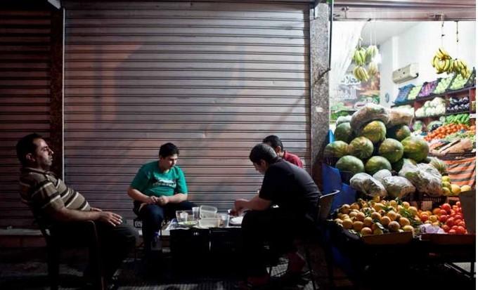 L'Institut des cultures d'islam (ICI) programme du 28 mars au 28 juillet une exposition autour de la fascinante capitale du Liban. Série Iftars © Natalie Naccache