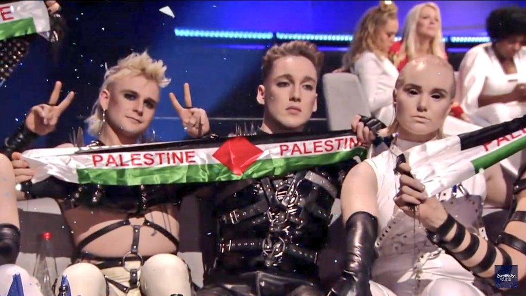 Eurovision 2019 : le soutien affiché de l'Islande à la Palestine (vidéo)