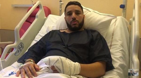 Après l'attaque, l'imam de Brest Rachid Eljay adresse un message depuis son lit d'hôpital (vidéo)