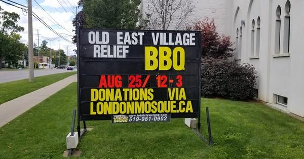 Canada : une mosquée organise un barbecue solidaire en faveur des victimes d'une explosion