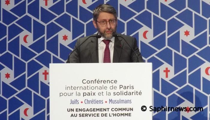 A Paris, la main tendue des responsables des cultes en France à la Ligue islamique mondiale