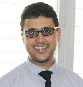 Yacine Hilmi, président de l'association Hozes.