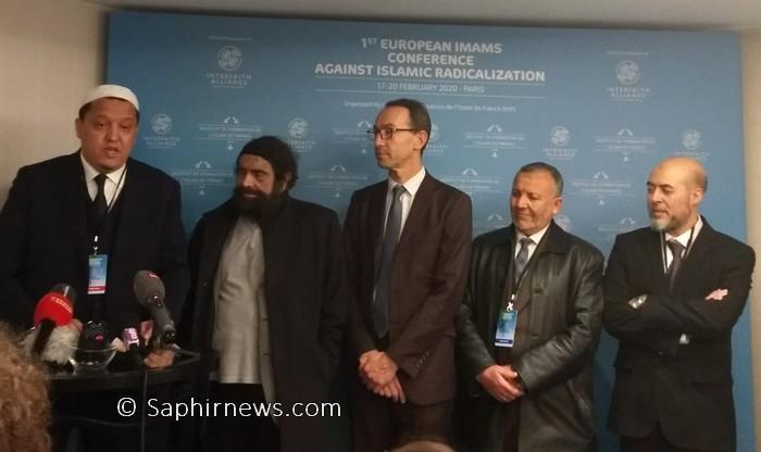 Autour de Hassen Chalghoumi, des imams d'Europe unis dans la lutte contre la radicalisation