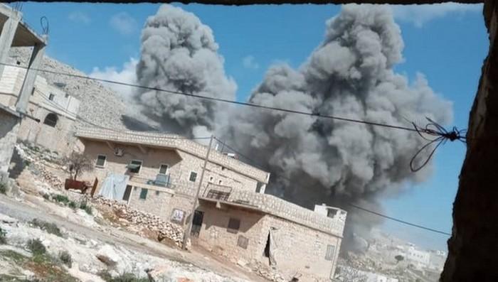 Face au drame humanitaire dans la province syrienne d'Idlib, 14 Etats européens réclament la fin de l'offensive. © UOSSM