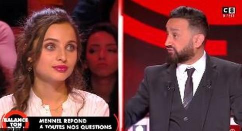 Mennel face à Cyril Hanouna : « Je veux être un modèle de résilience »