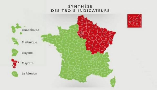 Déconfinement : la carte des départements en rouge et en vert dévoilée, les détails de l'après-11 mai connus