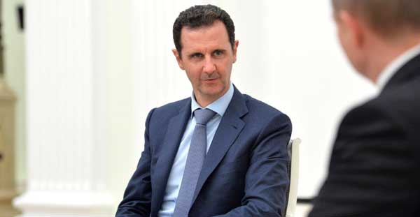 Le régime syrien de Bachar Al-Assad est visé par de nouvelles sanctions américaines avec la loi César, entrée en vigueur mercredi 17 juin. © Kremlin