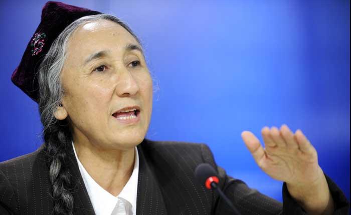 Rebiya Kadeer, présidente du Congrès mondial ouïghour depuis 2006, est la plus célèbre des dissidentes ouïghoures. © Parlement européen / Pietro Naj-Oleari
