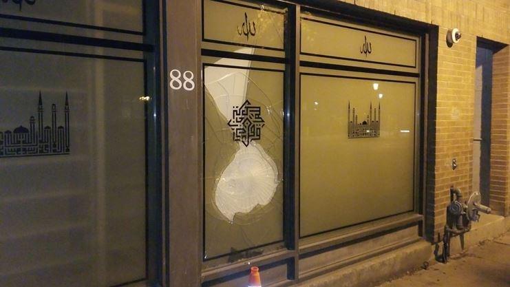 Deux mosquées de Toronto ont été vandalisées par six fois en moins de deux mois depuis juillet 2020. © Muslim Association of Canada