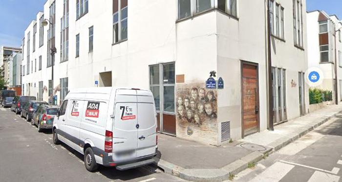 Une attaque à l'arme blanche a été perpétrée, vendredi 25 septembre, près des anciens locaux de Charlie Hebdo, dans le 11e arrondissement de Paris. © Google Maps