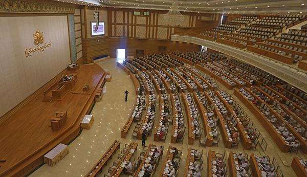 En Birmanie, deux musulmans ont été élus sous l'étiquette du parti d'Aung San Suu Kyi à l'issue des élections législatives organisées le 8 novembre. © CC BY 3.0 / Htoo Tay Zar