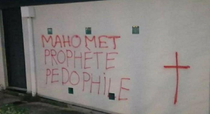 A la veille du Ramadan, des tags islamophobes sur une mosquée de Rennes suscitent l'émoi