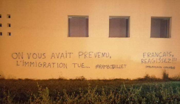 Après Rambouillet, de nouveaux tags islamophobes sur la mosquée Avicenne de Rennes en plein Ramadan