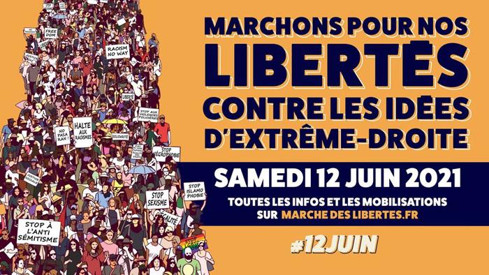 Une mobilisation nationale en vue le 12 juin contre la banalisation de l'extrême droite en France