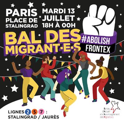 A Paris, polémique autour d'un Bal des migrants, la venue d'un DJ annulée