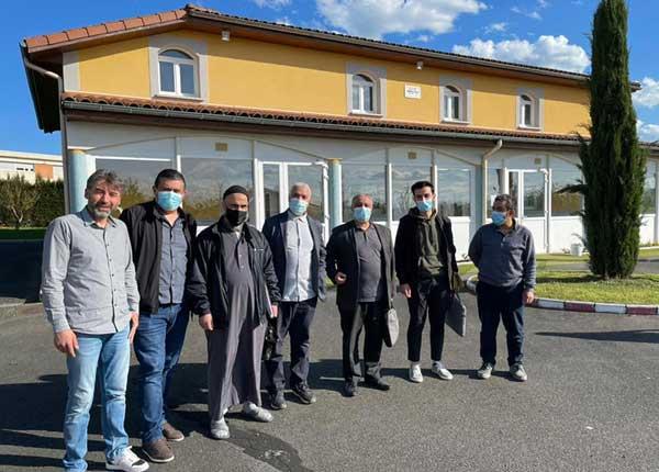 Les membres du bureau du Conseil départemental du culte musulman (CDCM) de la Loire. © DR
