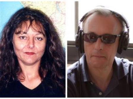 Ghislaine Dupont et Claude Verlon, deux journalistes de RFI assassinés le 2 novembre au Mali.