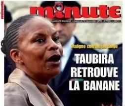 Taubira : le racisme sans gêne de Minute indigne