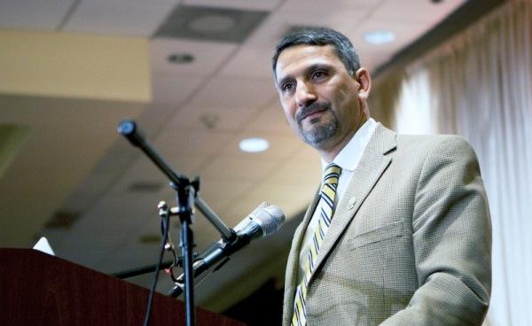 Hatem Bazian, co-fondateur de Zaytuna College, première université privée musulmane américaine et directeur du centre de recherches dédié à l'islamophobie à l'Université de Berkeley, Californie.