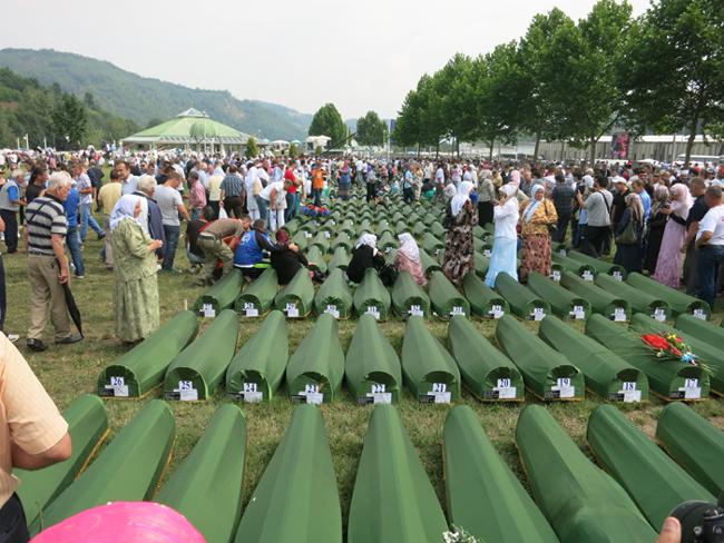 « La communauté internationale poursuit la même politique que dans les années 1990, celle qui a laissé les Bosniaques désarmés face à l'agression. » (Photo : © Philippe Merlant)