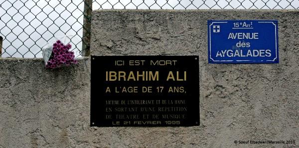 Ibrahim Ali : voter FN, c'est le tuer une seconde fois